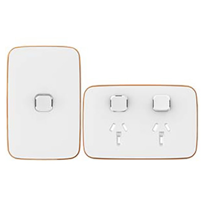 Iconic Essence Arctic White switch and power point