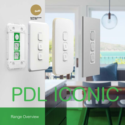 PDL Iconic Range Overview brochure cover