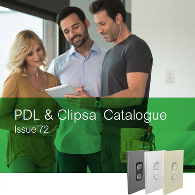 PDL & Clipsal Catalogue cover